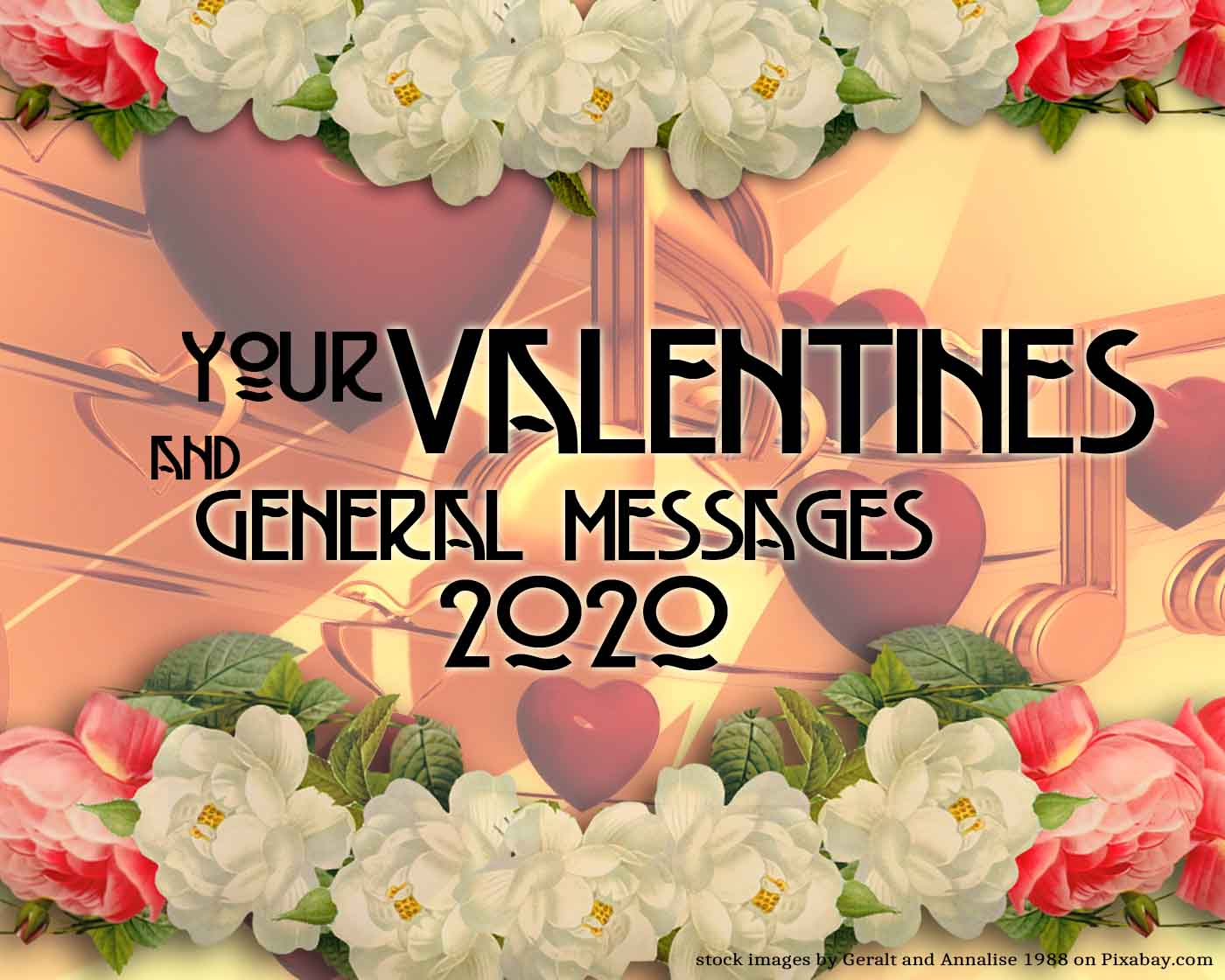 General Valentines and Love Messages 2020