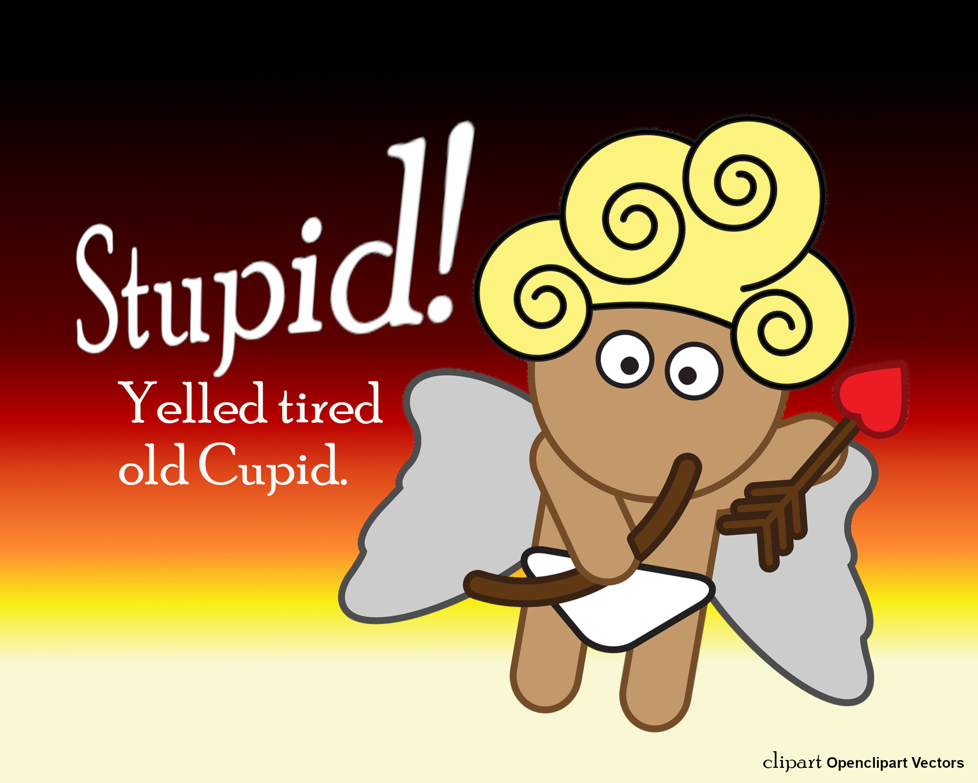 Tired Old Cupid